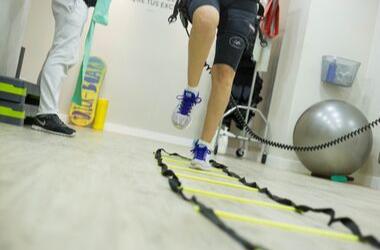 Fußballspezifische<br /> Rehabilitation